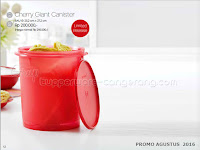 Cherry Giant Canister Promo Agustus 2016