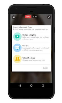 Facebook Launch Suicide Prevention Tools Integrated with Live Video To Help Users