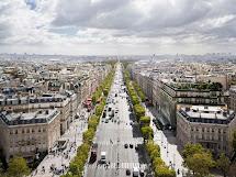 Paris Depuis L'arc De Triomphe - Bote Au Fle