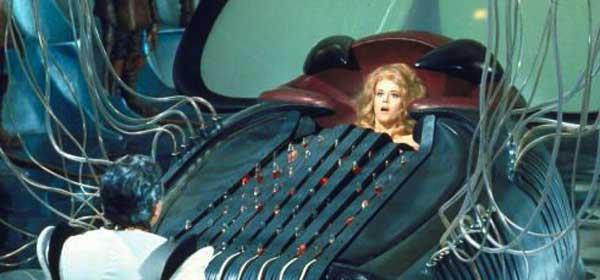 Resultado de imagen para la Máquina del Placer del filme Barbarella,