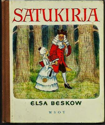 Irjan kirja, Toini Karivalo, satukirja, Elsa Beskow