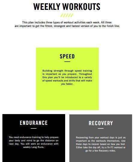 nike half marathon training pdf