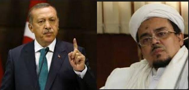 Presiden Edorgan : Rakyat Turki Siap Lindungi Habib Rizieq