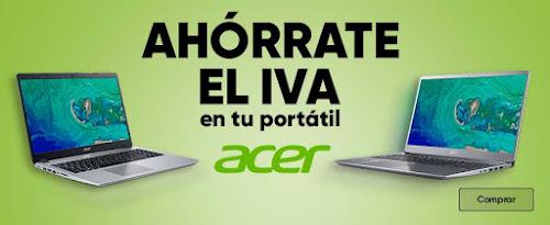 Mejores ofertas Ahórrate el IVA en tu portátil Acer de Fnac.es