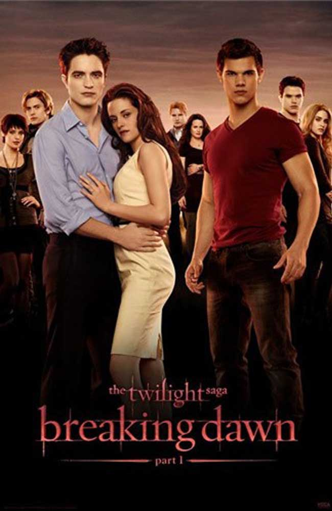 Movies: Posters Of The Twilight Saga: Breaking Dawn