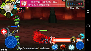 Download Naruto Senki Mod Alakadarnya v2 by Fehendra Apk
