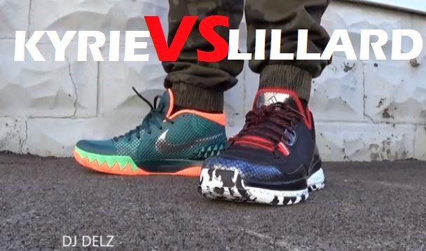 428240ea3948f Here is a new sneaker addict episode of the Nike Kyrie Irving VS adidas  Damian Lillard 1 Sneakers