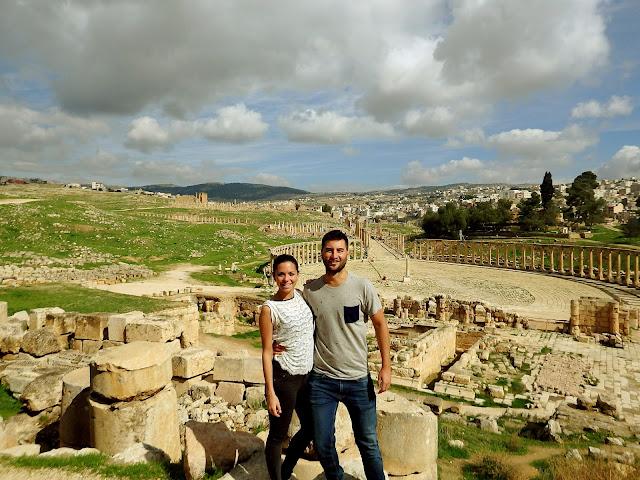 viajar a jordania mochilero