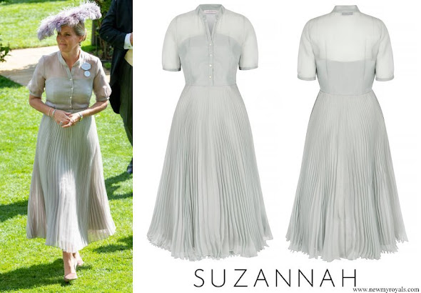 Countess Sophie wore SUZANNAH Eleanor Dress