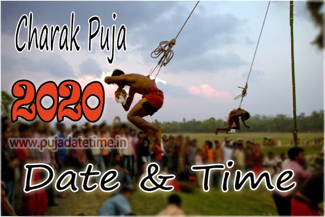 2020 Charak Puja Date & Time