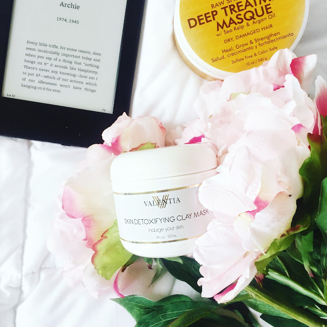 Reviewing Beauty: Valentia Skin Detoxifying Clay Mask + Coupon Code!
