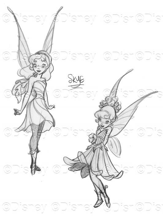 Denise's Drawing Board: Pixie Dust Away!