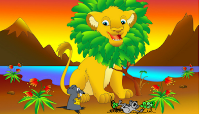 kids-story-Lion-And-Mouse-bachho ki kahani in hindi
