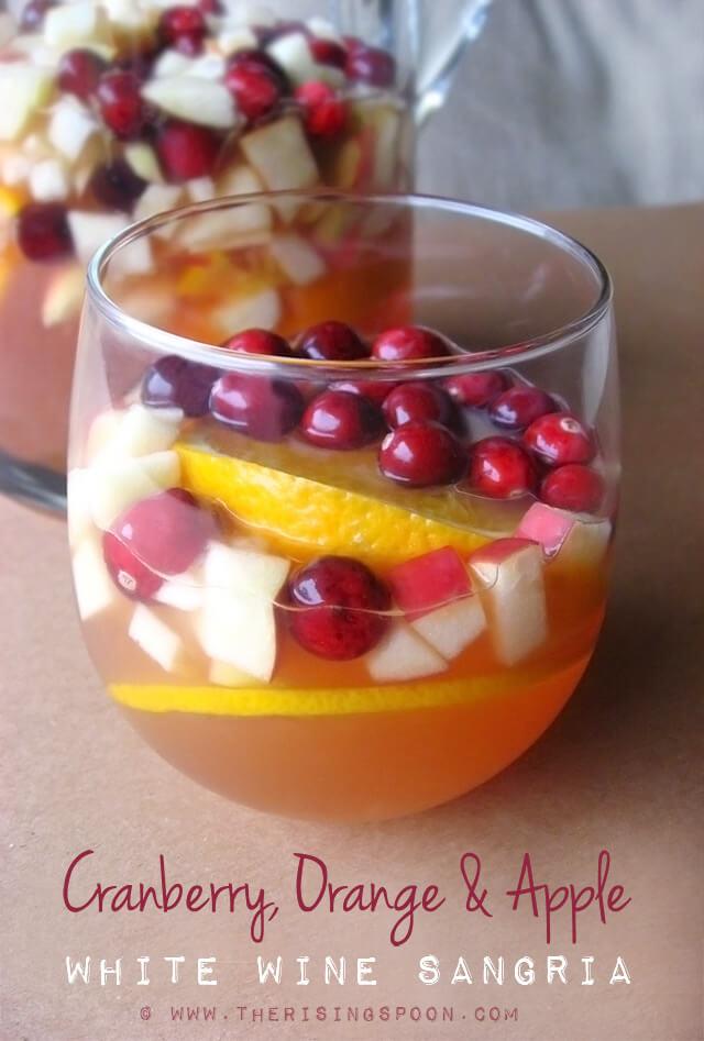 Thanksgiving Drink Recipe: Cranberry, Orange & Apple White Wine Sangria