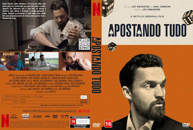 Capa DVD Apostando Tudo [Exclusiva]