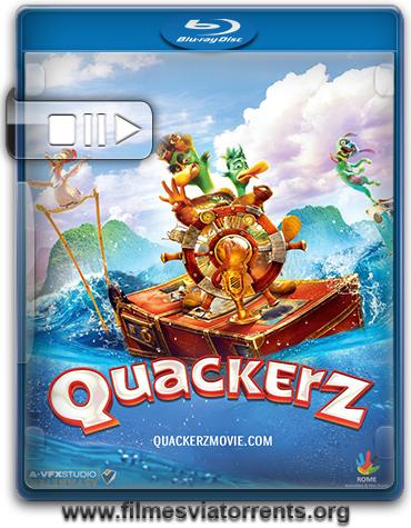 Quackerz Torrent - BluRay Rip 720p e 1080p Legendado (2016)