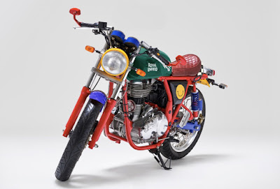 Royal Enfield Continental GT front look