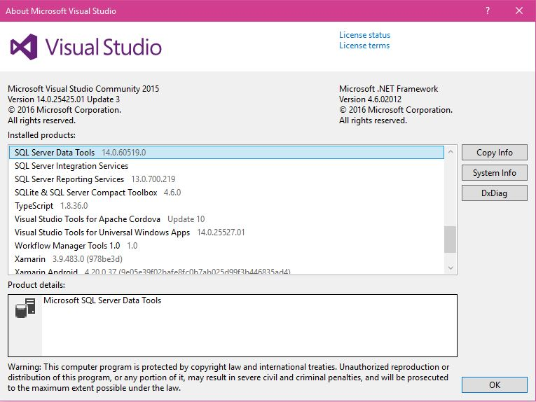 Visual Studio 2017 - BI Data Tools (SSDT) - YouTube