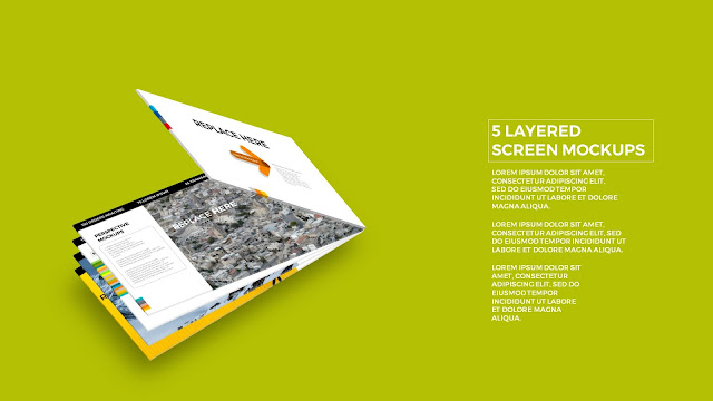 5 Layered Opening Screen Mockukp Templates in Powerpoint Slide2