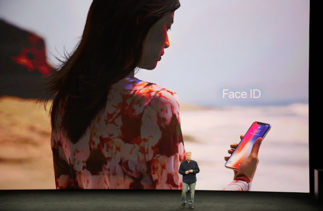 iPhone X with Face ID, 3D Sensors
