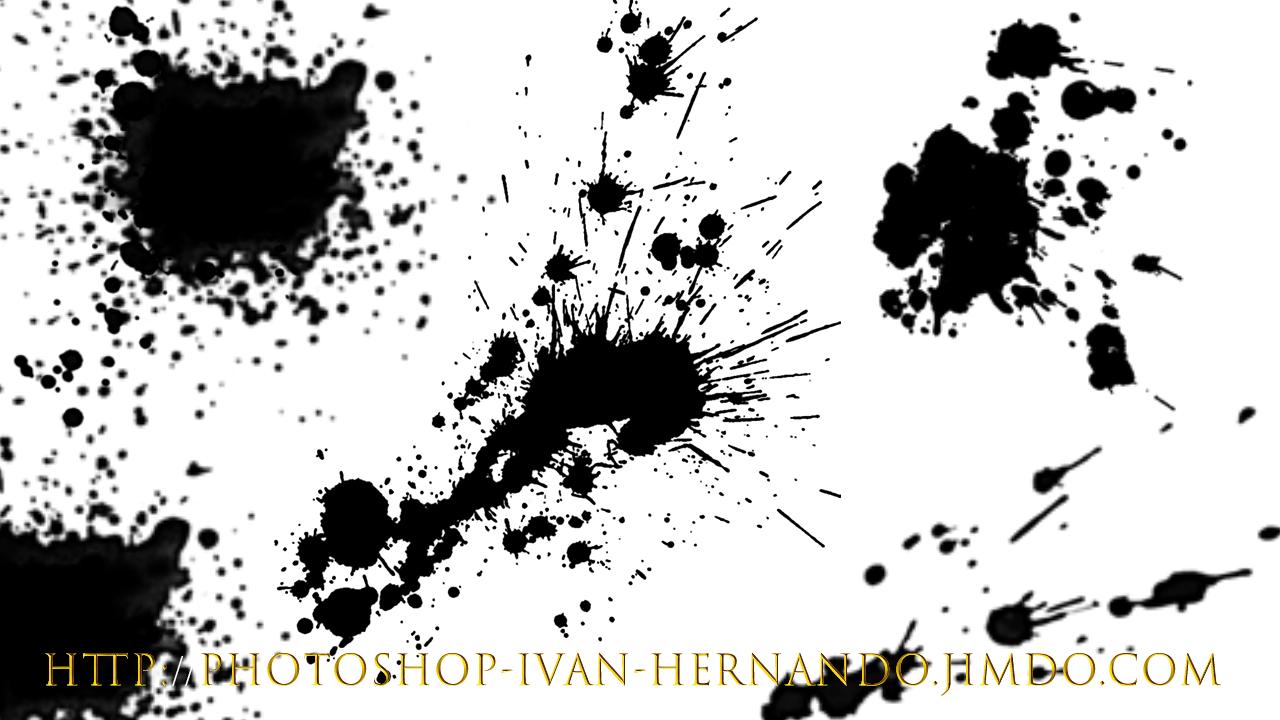 30 Brushes de Pintura Salpicada para Photoshop » Regardis