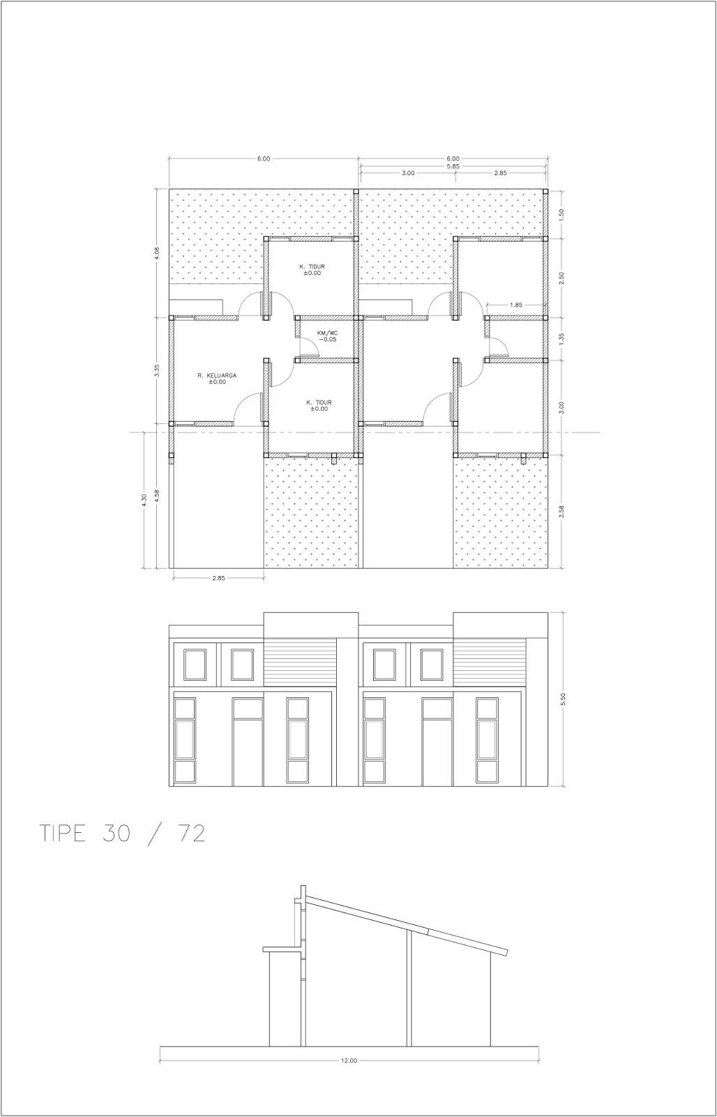 Image Result For Gambar Rumah Sederhana Di Kampung Terbaru