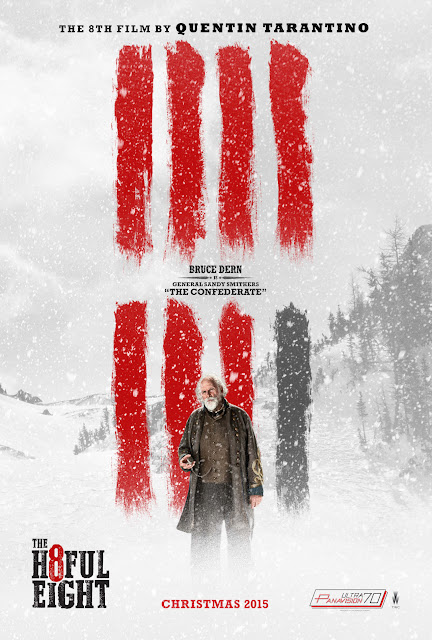 The Hateful Eight Bruce Dern Confederate General Sandy Smithers The Confederate