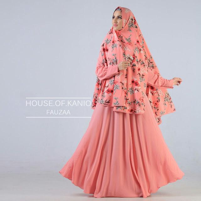 Model Baju Gamis Muslim Syar'i Buat Remaja Terbaru