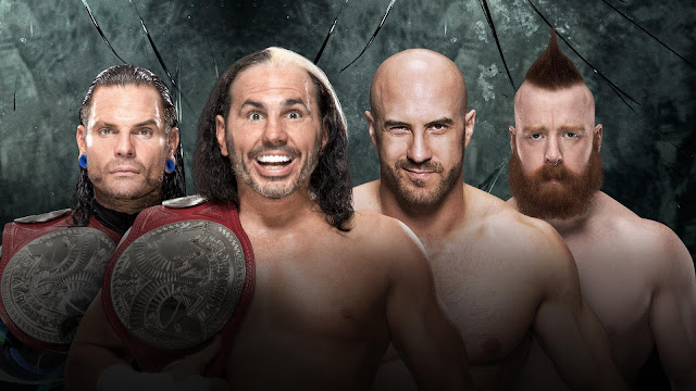 Raw Tag Team Champions The Hardy Boyz vs. Sheamus & Cesaro