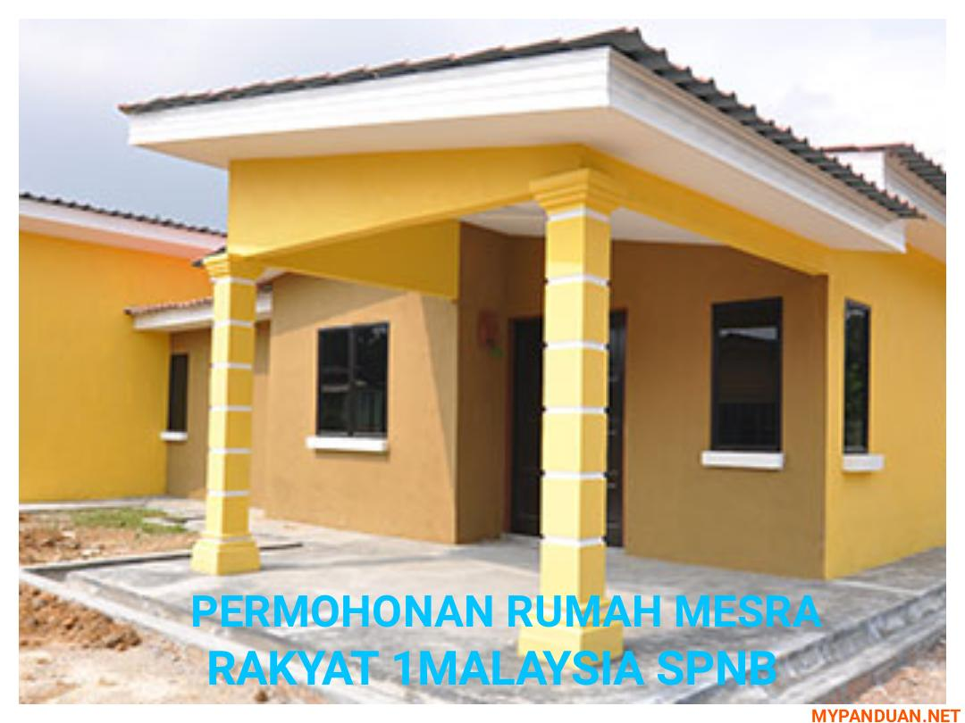Permohonan Rumah Mesra Rakyat 1malaysia Rmr1m Spnb 2020 Online