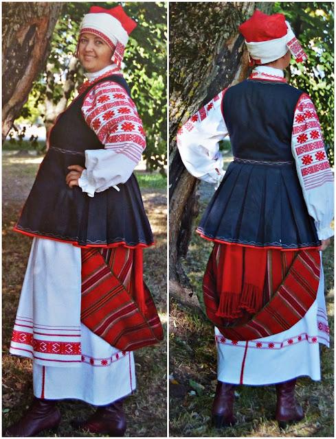 Belarus folk costume