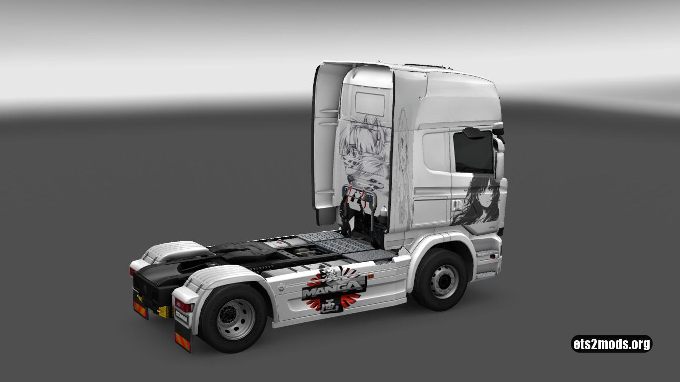 Scania Streamline Manga Skin