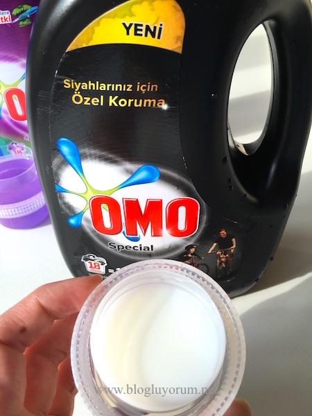 omo special siyahlar için sıvı çamaşır deterjanı