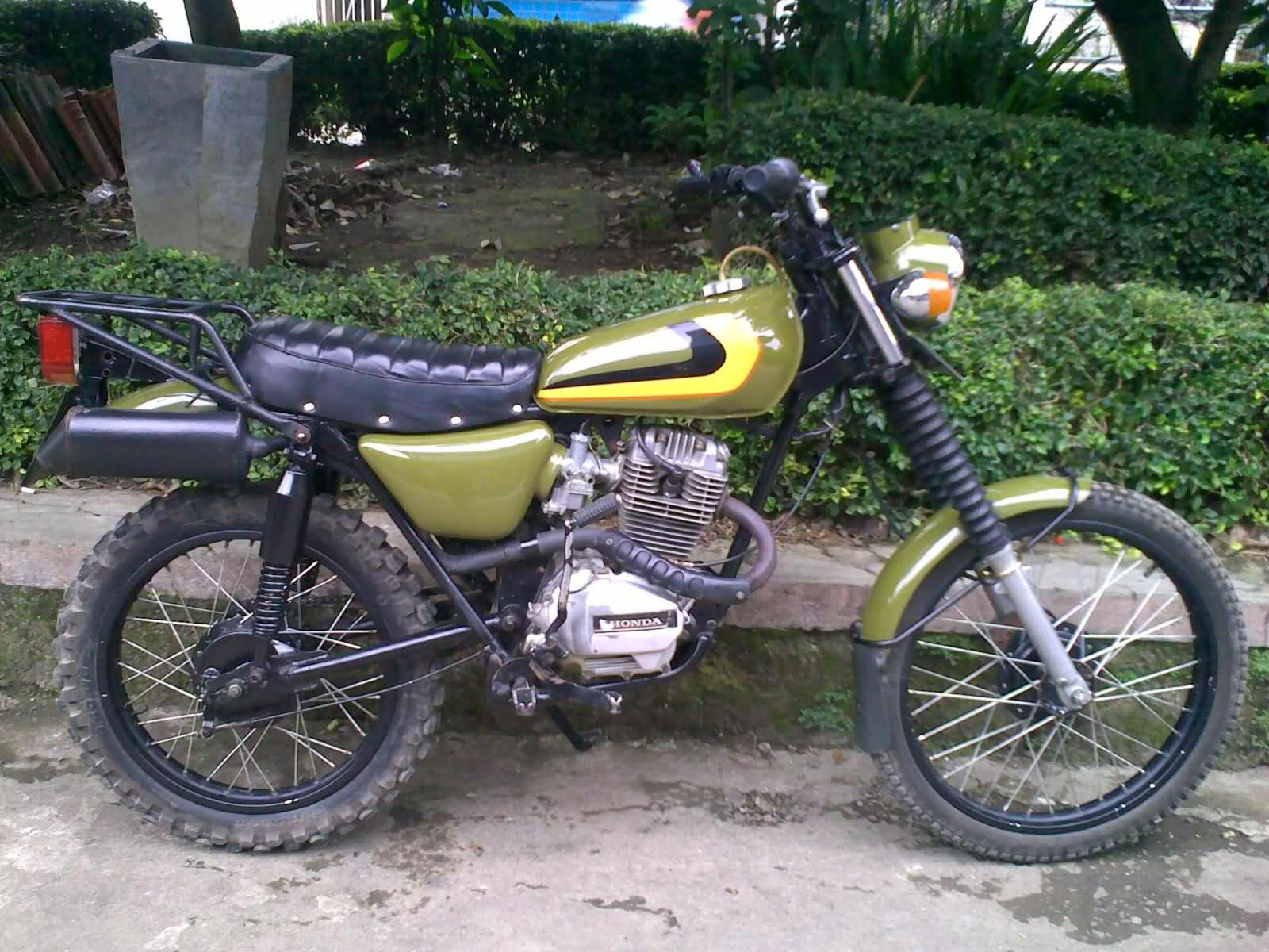 Download Koleksi Modifikasi Motor Trail Xl Terbaru Velgy Motor