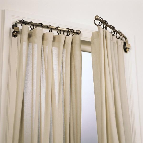 Rideaux lin rideaux et voilages for Rideaux pour petite fenetre chambre