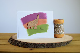 Safari Themed Elephant Card by Jess Crafts using Hero Arts My Monthly Hero June Kit