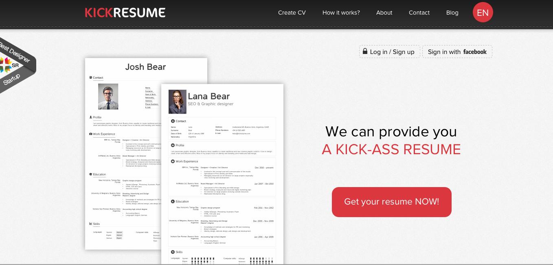 Kickresume.com