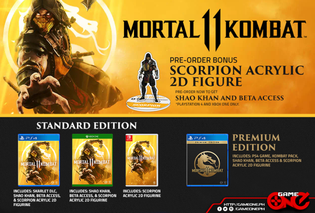 RONIE THE TRUBIST: Mortal Kombat 11 Now Available For Pre-Order