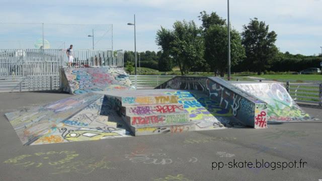 Skatepark Lezennes zoom