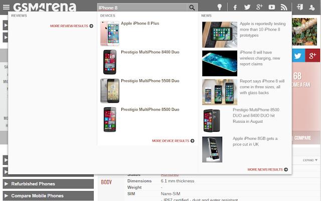 Rumor Mengenai Apple IPhone 8 Plus
