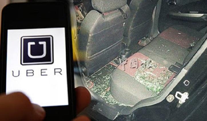 Kereta Uber Diserang 50 Pemandu Teksi Di KL Sentral