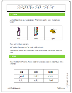 -OLD Phonogram Learning Packet