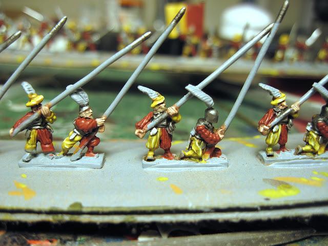 Warmonger Miniatures Landsknechte Pikemen