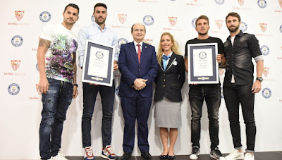 Sevilla Guinness Records