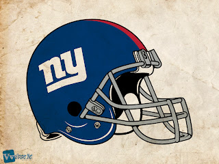 New York Giants Helmet Design on Old Paper HD Wallpaper