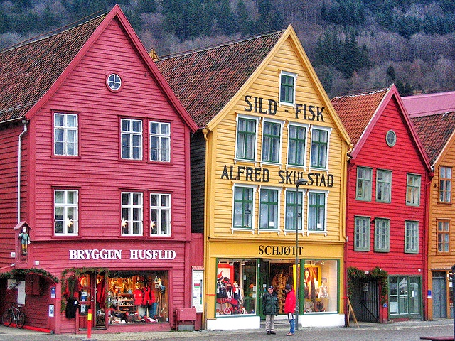 Bergen, beautiful places to visit in Norway
