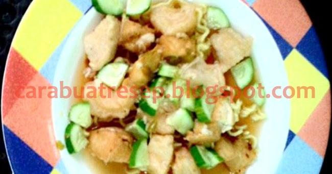 Resep Masakan Rujak Mie Khas Palembang