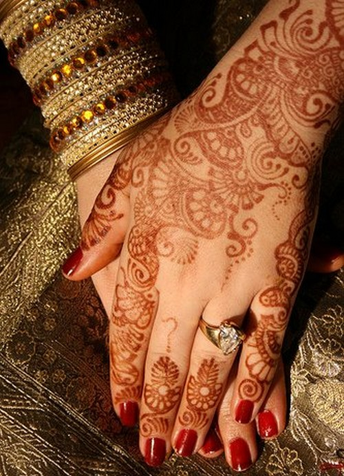 Indian Bridal Henna Designs: Latest Fashion Trend: Bridal Mehndi Designs