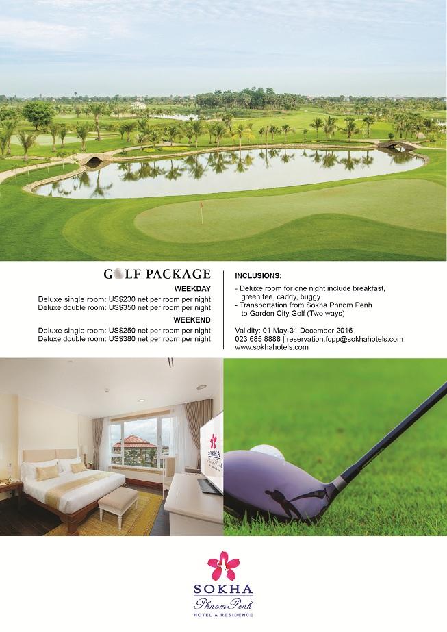 Sokha Golf Package