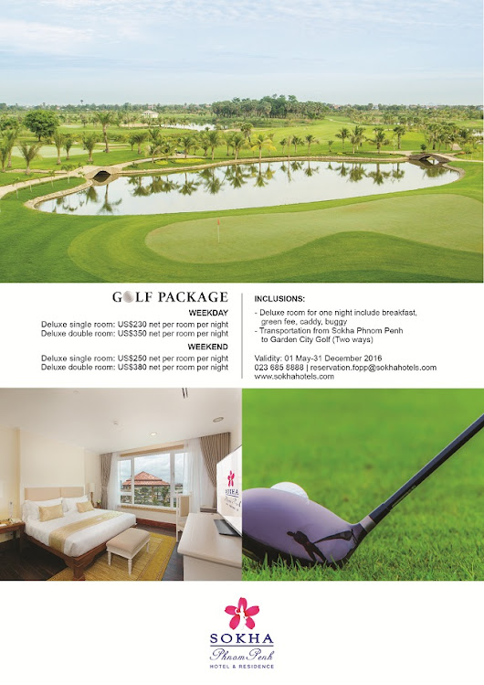 Sokha Golf Package